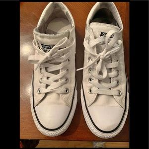 Converse All Star White Low Tops Sneakers Size 7